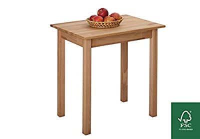 Dining Table Beech 100% FSC Tomas 70x50x75 cm produced by Krok Wood Ltd. - quick delivery from UK.