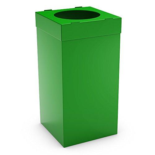 Medio Ambiente Amigos valor plástico coleccionistas 80L verde/basura/basura Compaginador/plástico...