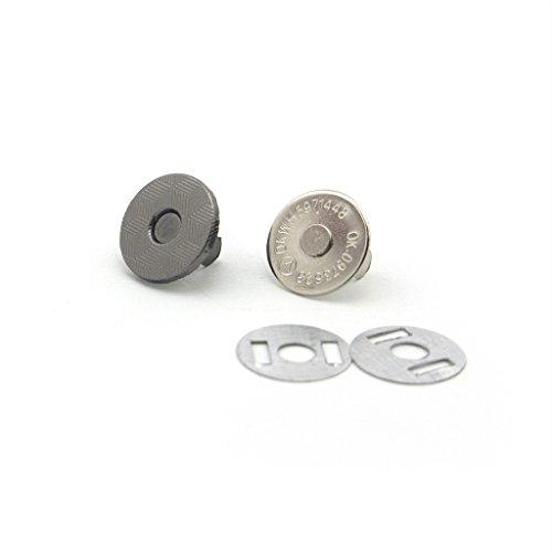 Pulsanti magnetici 10 completa Imposta Snap Borsa catenaccio magnetico Press Pattern - Scuro Rame (Rame Catenaccio Magnetico)