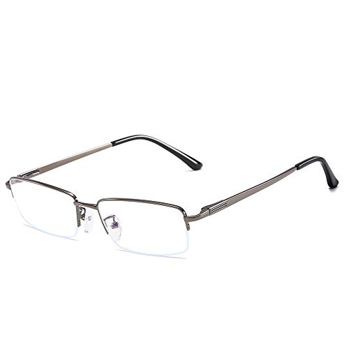 Duhongmei123 Mode Brillen Universal Square Anti Blue Männer Computer Augenschutz Brillengestell Plain Glasses Occhiali (Color : Dark Green, Size : Kostenlos)