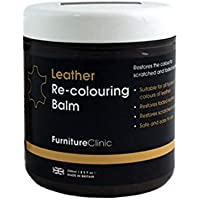Leather Recolouring Balm (Dark Brown) for Sofas, Cars, Shoes and Clothing - The Best Leather Care -Renew and Restore Color to Faded and Scratched Leather on Boots, Handbags, Jackets, Saddles