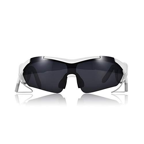 NinJaSun Bluetooth-Headset-Brille, hörbare Songs, Telefonanrufe, polarisierende Sonnenbrillen, Wechselobjektive, Multi-Lens-Modelle und Unisex-Modelle,Black