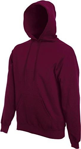 Fruit of the Loom - Kapuzen-Sweatshirt 'Hooded Sweat' XXL,Burgundy