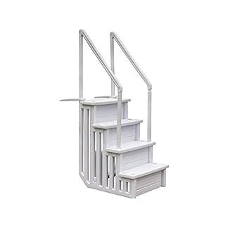 Gre EPE30 – Escalera Sintética para Piscina Enterrada, 206 cm
