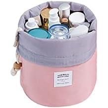 Fossen Neceser de Viaje Bolsas de aseo con Cordón Bolsa de Almacenamiento Organizador de Maquillaje Cosmética Bolsa de Lavado