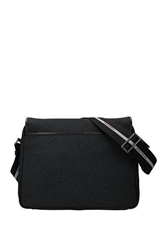 943332J29L73 Borbonese Sac à bandoulière Unisex Polyester Noir Noir