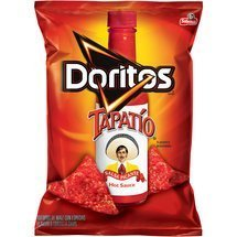 Frito Lay, Doritos® Brand, Tapatio Hot Sauce Flavored Tortilla Chips, 11oz Bag (Pack of 3) by Doritos