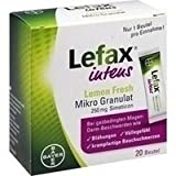 Lefax intens 250 mg Lemon fresh Mikrogranulat, 20 St.