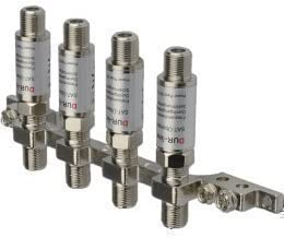 Dur-Line DLBS 3001 Erdungsschiene 4-fach + 4 x Blitzschutz