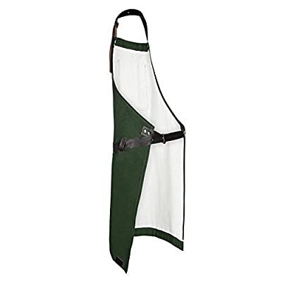 Heineken stylische Grillschürze - BBQ-Schürze Logos, Dunkelgrün