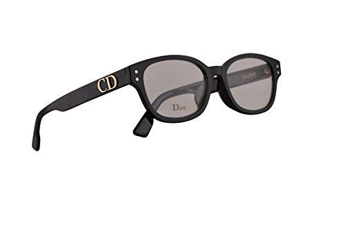 Dior Christian DiorCD2F Brillen 51-17-145 Schwarz Mit Demonstrationsgläsern 807 CD2F