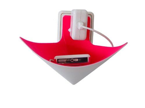 load-ding pink Handyhalter Ladeschale von xxd Design