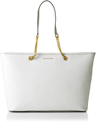 Michael Kors Spring-Summer 17 Totalizador, 15x26.7x43 cm (W x H L), Blanco (Optic White)