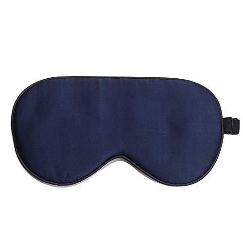 100% Doppelseitige Schlafaugenmaske Aus Naturseide, Verstellbare Superweiche Augenmaske, Hilft Beim Schattieren Der Schlafbrille Aus Atmungsaktiver Leichter Seidenbaumwolle, Unisex (Kostüm Zelle Die)