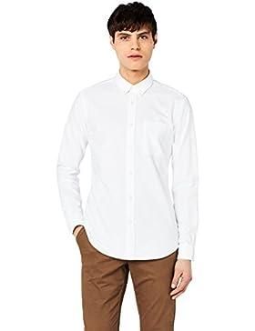 MERAKI Camicia in Cotone Slim Fi