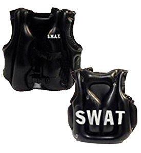 Aufblasbare SWAT Kugelsichere Weste - Kind - Erwachsene Kostüm Zubehör (Kugelsichere Weste Kostüm)