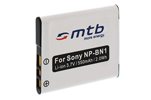 Ersatz-Akku NP-BN1 für Sony Cyber-shot DSC-W710, W730, WX80, WX200... (siehe Liste)