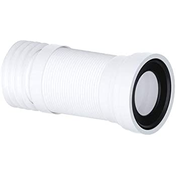 WC-CON16 Pan Connector for Corner Toilet 45° Bend to Plastic Soil Pipe 45 Degree