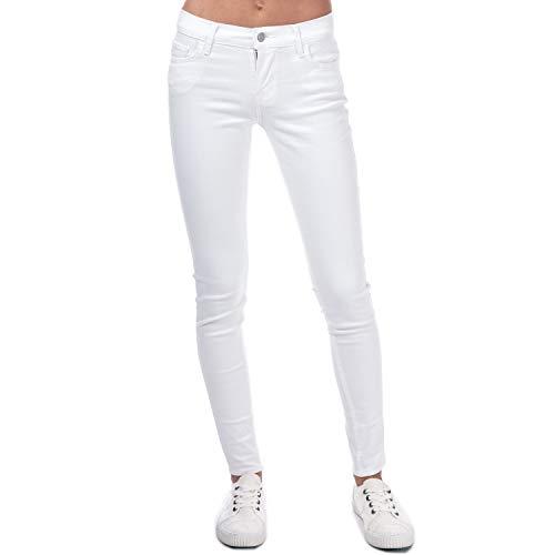 Levi s Vaqueros Liso para Mujer Blanco 30W x 32L