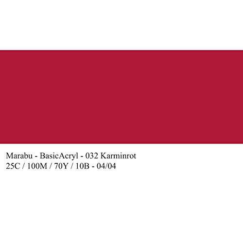 marabu-peinture-acrylique-basicacryl-rouge-carmin-80-ml