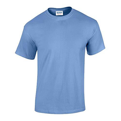 Carolina Cotton (Gildan - Heavy Cotton T-Shirt '5000' / Carolina Blue, XXL)