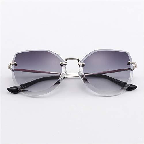 WWVAVA Sonnenbrillen 2019 metall frauen sonnenbrille HD uv400 farbige designer klare süßigkeiten mode vintage retro sonnenbrille, c2