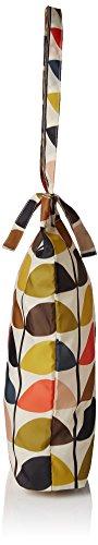 Multicolour nbsp;Borsa Orla Kiely nbsp;– nbsp;– Kiely Multi ripiegabile shopper Orla 1x68wqnRnU