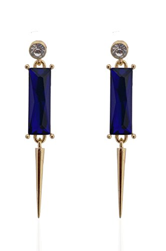 Crunchy Fashion Gold Metal Dangle & Drop Earrings For Women
