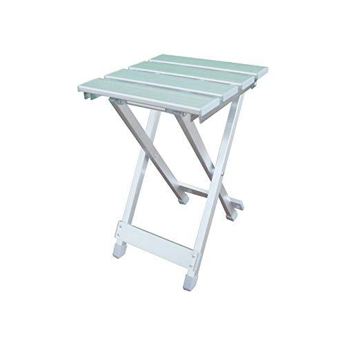 Gangkun Weiß klappstuhl, Aluminium klappstuhl, Outdoor tragbaren freizeitstuhl Angeln hocker