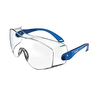 Dräger Schutzbrille X-pect 8120   Einstellbare Überbrille auch für Brillenträger   Für Baustelle, Labor, Werkstatt und Fahrrad-Fahren   Leicht, klar und Kratzfest   1 St.