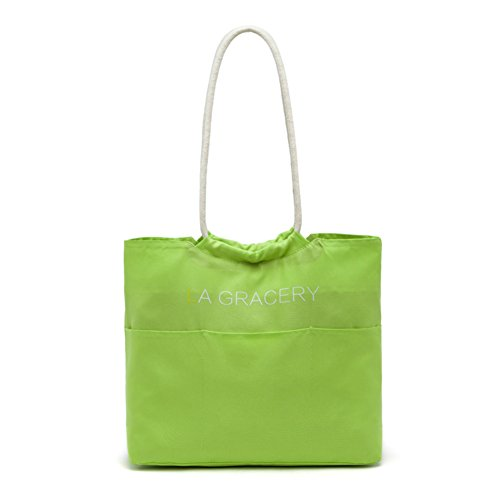 LA GRACERY, Borsa tote donna Green