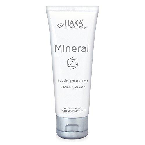 HAKA Feuchtigkeitscreme Mineral I 75 ml Tube I Anti Falten Creme für Damen I Tagescreme, Nachtcreme mit Zink, Magnesium und Kupfer I...
