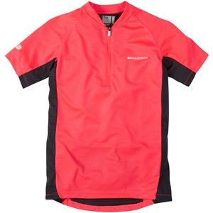 Madison Trail Youth Short Sleeved Jersey Diva Pink Age 10 - 12