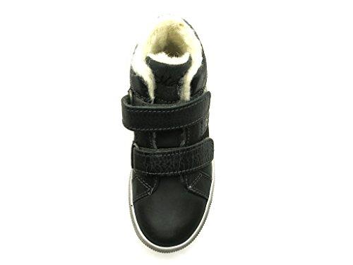 Ma-Ra Sneaker Stiefelette Kelttschuhe Jungenschuhe mit 100% Wolle Grau
