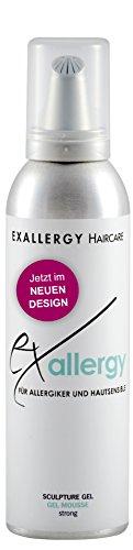 EXALLERGY Hairstyling Sculpture Gel Mousse Schaumfestiger für Allergiker (200 ml)