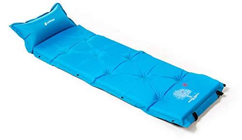Ever Night Außenzelt Isomatte Automatische Aufblasbare Kissen Einzelne Matte Verdickung Verdickung Können Mehrere Personen Aufblasbares Kissen Genäht Werden,Blau,192 * 60 * 5cm