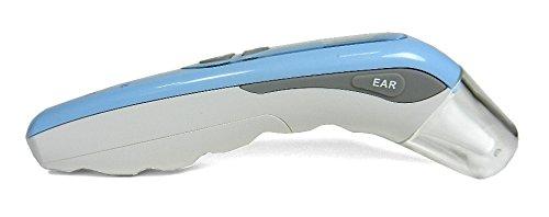 Termometro 3 in 1 digitale, misura frontale, auricolare, ambiente, facile utilizzo, igienico e pratico
