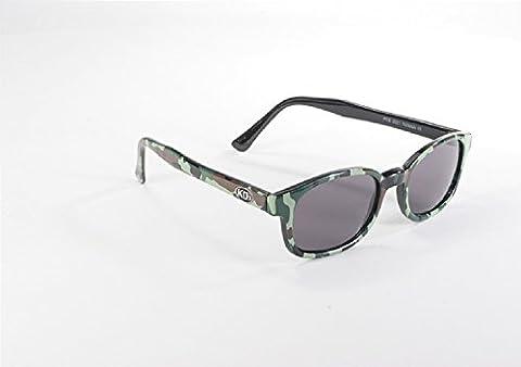 Original KD forme de lunettes de soleil KDS comme porté par Jax Teller sur Sons of Anarchy (Camouflage) KD