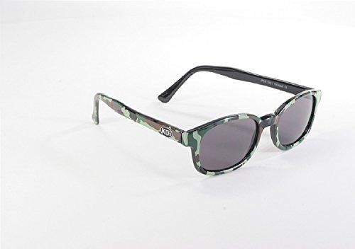 Original KD-Biker-Sonnenbrille KDS als getragen von Jax Teller auf Sons of Anarchy (Camo) KD