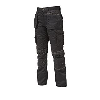Apache Men's Holster Polycotton Holster Trouser, Black, 34W x 31L