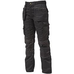 "Apache Holster - Pistolera para hombre, tamaño 32 de cintura - 29 de pierna"", color negro"