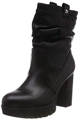 Fornarina sneaker a collo alto donna, nero (bea4 black) 37 eu