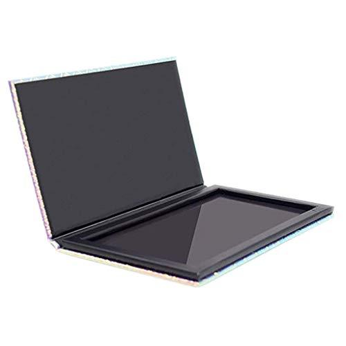Sayla Leere Lidschattenablage Magnetische Palette Make-up-Palette Auflage Leopard Großes Muster DIY Palette -