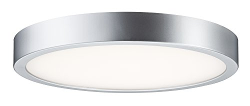 Paulmann 703.90 WallCeiling Orbit LED-Panel 360mm 18,5W 230V Chrom matt/Weiß 70390 Deckenaufbauleuchte Deckenleuchte Deckenlampe 360 Panel