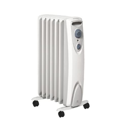 310dnR7wTML. SS500  - Dimplex OFRC15N Oil Free Electric Heater, White, 1.5KW, Steel
