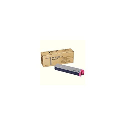 Preisvergleich Produktbild Kyocera TK-510Magenta Toner Cartridge–Tonerpatrone für Laserdrucker (8000Seiten, magenta)
