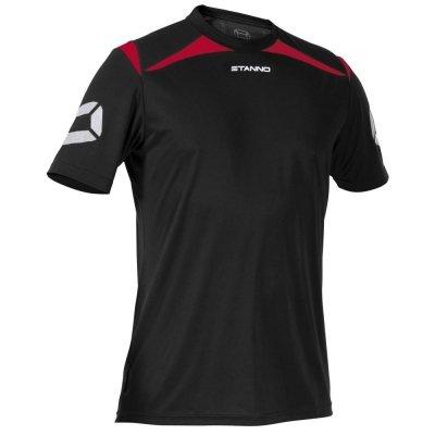 Stanno Forza T-Shirt - black-red, Größe Stanno:XL