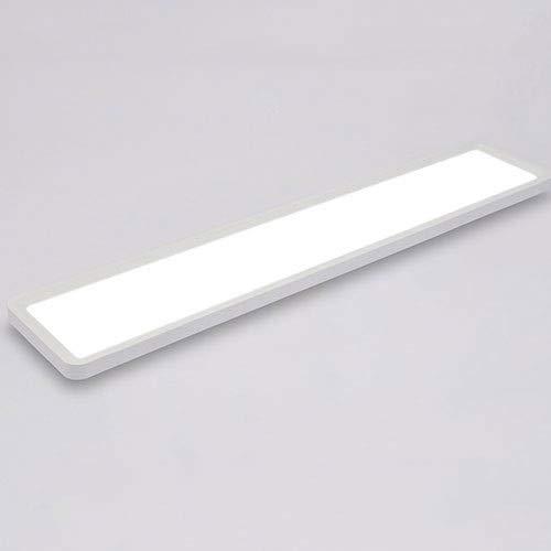 AKLKR Deckenleuchte Led Moderne Minimalistische Wohnzimmerlampe Balkonlampe Studie Gang Korridor Rechteckige Ultralange Beleuchtung International Aesthetics Deckenbündig Einbauleuchte