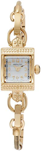 Hamilton Damen Analog Quarz Uhr mit Edelstahl Armband H31231113