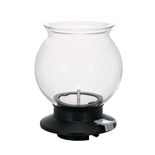 Hario VD Tee Tropfer Largo Sphärische Glas klar Tee Brewer mit Button Release, packof1